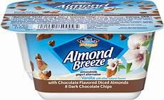 almondmilk yogurt alternative with dark chocolate flavored almonds blue diamond blue diamond