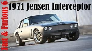 Fast & Furious 6 Cars 1971 Jensen Interceptor  YouTube