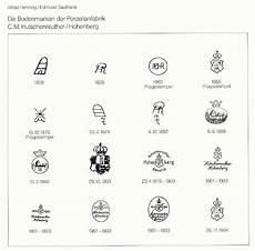 bavaria porzellanstempel katalog hutschenreuther merkjes