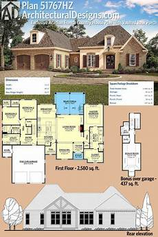 acadian country house plans plan 51767hz exclusive acadian french country house plan