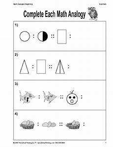 critical thinking worksheet grades k 2 mathematical concepts education world