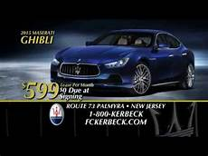 maserati ghibli 599 per month lease 0 due at signing