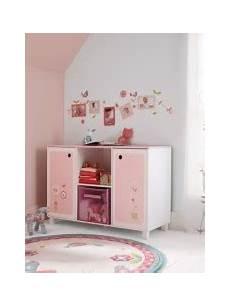 meuble bas rangement chambre fille meuble original pour