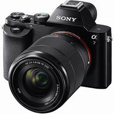 sony mirrorless sony alpha a7 mirrorless digital with fe 28 70mm