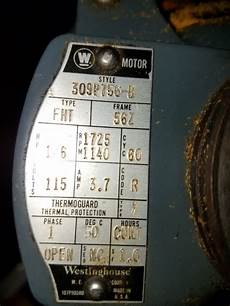 westinghouse single phase motor lathe switching direction smokstak 174 engine