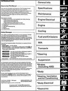 car repair manual download 2003 honda civic si security system 2003 2004 2005 honda civic hybrid repair shop manual original