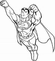 Malvorlagen Kinder Superhelden Superman Ausmalbilder Zum Ausdrucken Coloriage