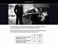 uberblack nyc airport flat rate prices increase today one mile at a time