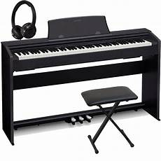 Casio Px 770bk Home Digital Piano 88 Key Weighted With
