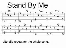 Easy Fingerstyle Song Tab Stand By Me Uku In 2019 Easy
