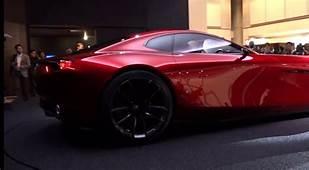 Mazda RX8 Vision Concept 2017 модельного года  YouTube