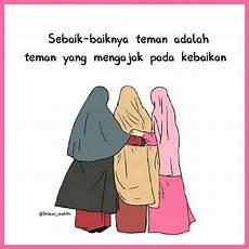 Gambar Kartun Muslimah Tentang Persahabatan