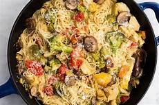 angel hair pasta with chicken recipe taste of home angel hair pasta primavera recipe food recipes pasta recipes pasta primavera