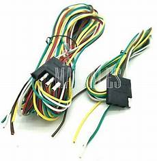25ft 4 way trailer wiring connection kit flat wire extension harness boat car rv ebay