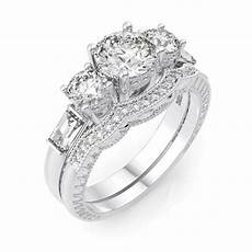 4 carat 925 sterling silver wedding engagement ring size 5 6 7 8 9 ebay