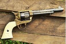 colt cavalry m1873 single action army peacemaker revolver 1873 denix replica ebay