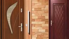 ideas de dise 241 o de la puerta principal de madera moderna 2019 youtube