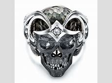 Mortality Skull Ring   Capitan Collection #101968