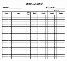 12 excel general ledger templates excel templates