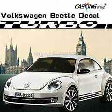 car sticker decal dual racing vinly stripe sticker decal graphic for vw beetle in car stickers