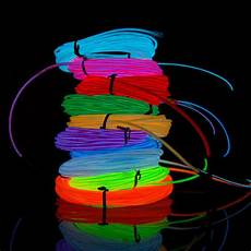 2017 3 Meter El Wire W Controller Multi Color Neon El Led