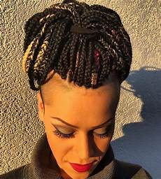 Updo Hairstyles For Individual Braids