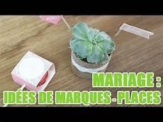 marques places mariage cr 233 er des marques places originaux pour un mariage id 233 es d 233 coration mariage