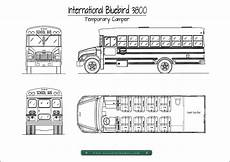 bus floor plans our first bus a temporary cer