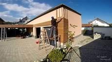 Holzfassade Thermo Kiefer Mit Pac Verlegesystem