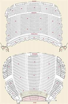 boston opera house seating plan boston opera house seating chart theatre in boston