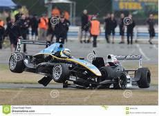 Accident De Voiture De Course De Voiture De Course Image Stock 233 Ditorial Image 36932789