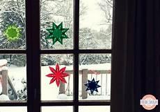 Malvorlagen Fenster Anleitung Weihnachtssterne Aus Transparentpapier Als Fensterdeko