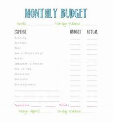 simple budget template 9 free word excel pdf documents download free premium templates