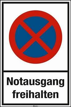 Malvorlagen Verkehrsschilder Mit Text Parkplatzschild Mit Symbol Und Text 283 50 Notausgang