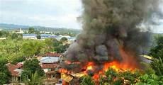 Sekitar Kebakaran Sembilan Rumah Di Kung Pang