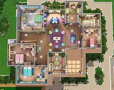 sims 3 house floor plans sims 3 starter home floor plans