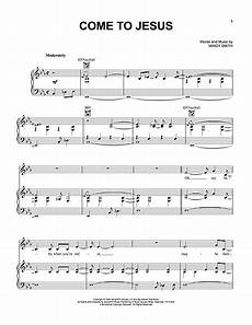 download come to jesus sheet music by mindy smith sku hx