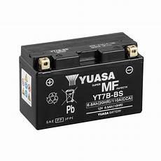 Batterie Moto Yuasa Yt7b Bs 12v 6 8ah 110a
