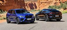 2020 bmw trail 2020 bmw x5 m and x6 m competition revealed