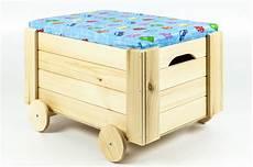 Spielzeugkiste Holzkiste Mit R 228 Der Sitz Deckel Truhe