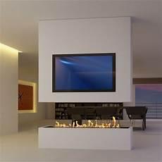 Sonderanfertigung 8 Raumteiler Mit Tv Und Bioethanol In