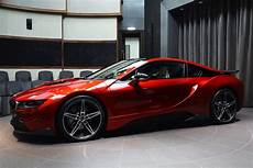 this custom lava bmw i8 is carscoops