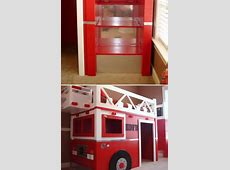 Bedroom: Fire Truck Bunk Bed For Inspiring Unique Bed