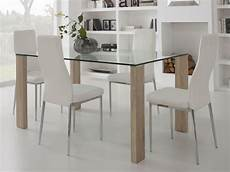 Table De Cuisine Moderne En Verre Atwebster Fr Maison