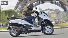 piaggio mp3 350 and 500 ride visordown