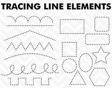 trace patterns worksheets 268 clipart tracing elements trace lines clip etsy