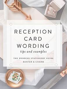 What Is A Reception Card In Wedding Invitations
