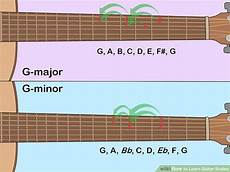 how to learn guitar scale how to learn guitar scales with pictures wikihow