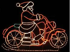 weihnachtsmann auf motorrad gif animated santa on motorcycle lights pictures photos and