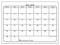 Kalender 2018 Juli - kalender juli 2018 51ms michel zbinden sv